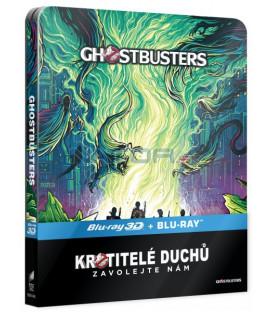 Krotitelé duchů 3 (Ghostbusters 3 - 2016)  Blu-ray Blu-ray 3D + 2D STEELBOOK
