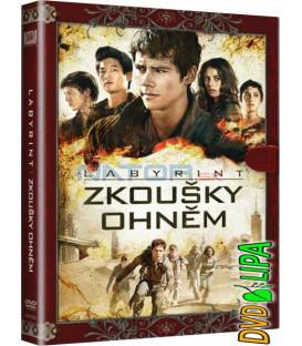 LABYRINT: ZKOUŠKY OHNĚM (Maze Runner: Scorch Trials) DVD (knižní edice)