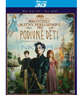 Sirotčinec slečny Peregrinové pro podivné děti (Miss Peregrines Home for Peculiar Children) 2D (1disk) Blu-ray STEELBOOK 2D+3D