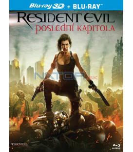 RESIDENT EVIL: POSLEDNÍ KAPITOLA (Resident Evil: The Final Chapte) Blu-ray 3D + 2D