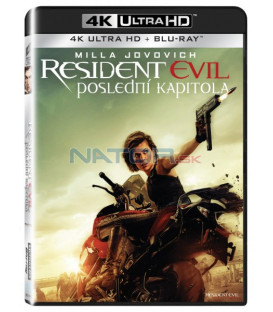 RESIDENT EVIL: POSLEDNÍ KAPITOLA (Resident Evil: The Final Chapte) UHD+BD - 2 x Blu-ray