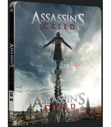 Assassins Creed 2016 - Blu-ray STEELBOOK 3D + 2D