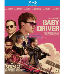 BABY DRIVER Blu-ray