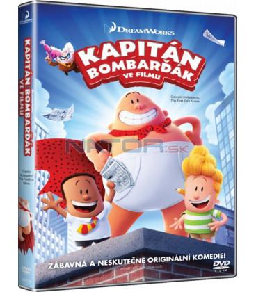 KAPITÁN BOMBARĎÁK VE FILMU (Captain Underpants: The First Epic Movie) DVD