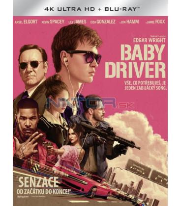 BABY DRIVER UHD+BD - 2 x Blu-ray