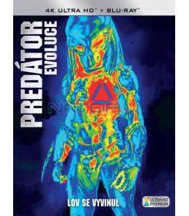 Predátor: Evoluce (The Predator 2018) 4K Ultra HD) - UHD+BD - 2 x Blu-ray