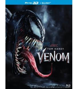 Venom 2018 Blu-ray 3D + 2D