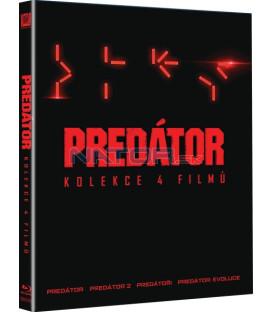 Predátor: Kolekce 4 filmů - Blu-ray (3DBD + 3BD)