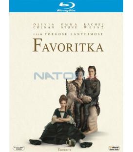 FAVORITKA 2018 (The Favourite) Blu-ray