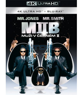 Muži v černém 2 - 2002 ( Men in Black 2) (4K Ultra HD) - UHD Blu-ray + Blu-ray