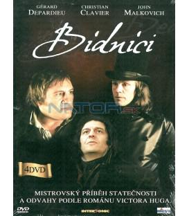 Bídnici 4 DVD-Kolekce (Les Misérables)
