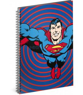 Špirálový blok Superman – Circles, linajkovaný, A5
