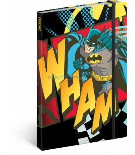 Notes Batman – Wham, linajkovaný, 13 x 21 cm