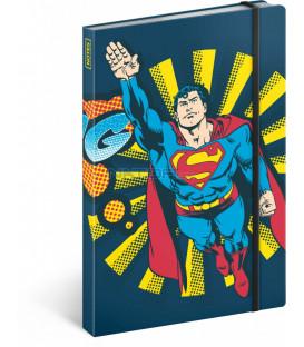 Notes Superman – Bang, linajkovaný, 13 x 21 cm