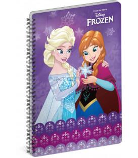 Špirálový blok Frozen – Ľadové kráľovstvo Together, A5, linajkovaný