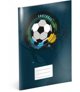 Školský zošit Futbal, A4, 40 listov, štvorčekovaný