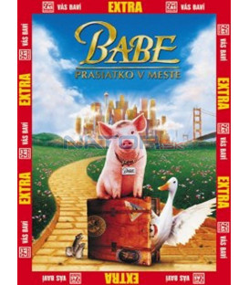 Babe 2: Prasátko ve městě (Babe pig in the city) DVD