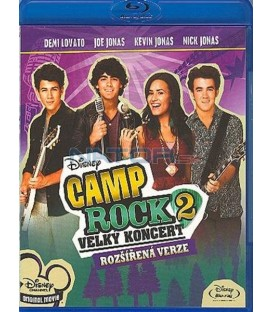 Camp Rock 2: Velký koncert (Blu-ray)  (Camp Rock 2)