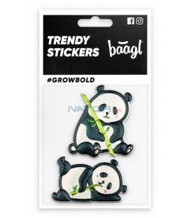 BAAGL Samolepky Panda
