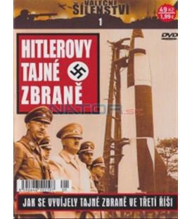 Válečné šílenství 1 - Hitlerovy tajné zbraně (Hitler´s Secret Weapons) DVD