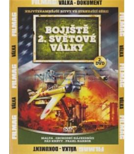 Bojiště 2. světové války - 2. DVD (Malta / Commerce Raider / Fall of Crete / Pearl Harbor)