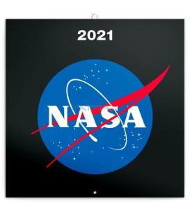 Poznámkový kalendár NASA 2021, 30 × 30 cm