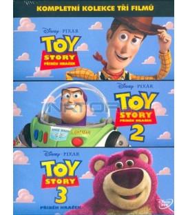 Toy Story: Příběh hraček kolekce 1-3 (3DVD)  (Toy Story Collection 1-3 (3 DVD)