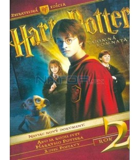 Harry Potter a tajemná komnata - sběratelská edice 3 DVD  (Harry Potter And The Chamber Of Secrets CE)