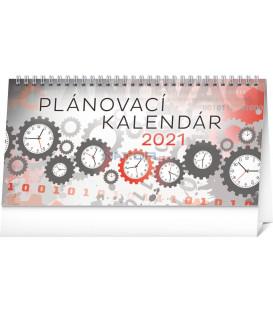 Stolový kalendár Plánovací SK 2021, 25 × 12,5 cm