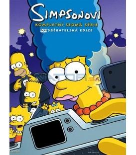 Simpsonovi 7.sezona, 4 DVD, 25 dílů