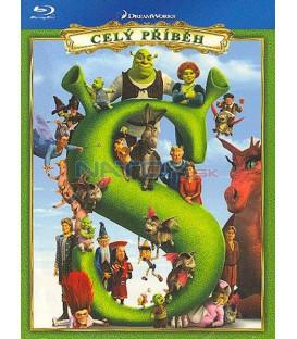 Shrek kolekce- 4Blu-ray (Shrek collection 1-4)