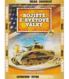 Bojiště 2. světové války - 5. DVD(Tobruk / El Alamein / Stalingrad / Sicily)