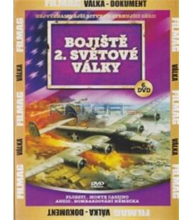 Bojiště 2. světové války - 6. DVD (Ploesti / Monte Cassino / Anzio / Bombing of Germany)