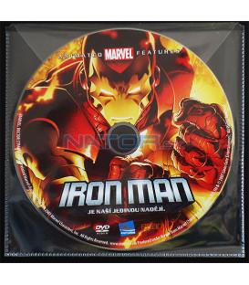 Iron Man (The Invincible Iron Man) DVD BALENIE V OBÁLKE Z FOLIE PRIEHĽADNÁ)