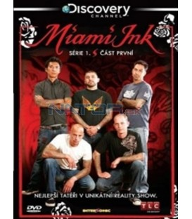 Miami Ink - série 1 - disk 1 (Miami Ink) DVD