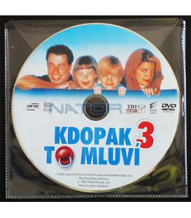 Kdopak to mluví III DVD (BALENIE V OBÁLKE Z FOLIE PRIEHĽADNÁ)