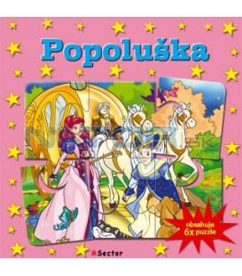 Kniha Popoluška-6x puzzle - Obsahuje 6x puzzle