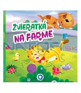 Kniha Zvieratká na farme - malé leporelo