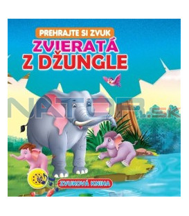 Zvieratá z džungle - Zvuková kniha