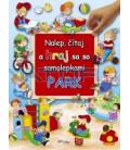 Park - Nalep, čítaj a hraj sa so samolepkami