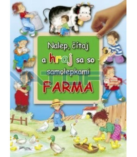 Farma - Nalep, čítaj a hraj sa so samolepkami