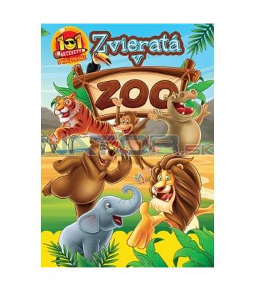 101 Zvieratá v ZOO Aktivity nálepkami