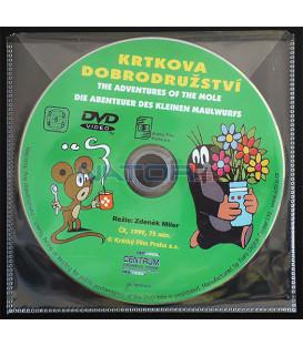 Krtkova dobrodružství 01 DVD (BALENIE V OBÁLKE Z FOLIE PRIEHĽADNÁ)