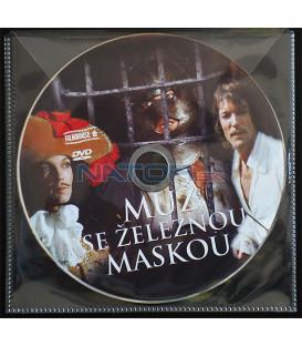 Muž se železnou maskou (The Man in the Iron Mask) DVD BALENIE V OBÁLKE Z FOLIE PRIEHĽADNÁ)
