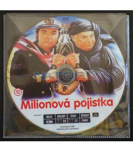 Milionová pojistka (Com´è dura l´avventura) DVD (BALENIE V OBÁLKE Z FOLIE PRIEHĽADNÁ)