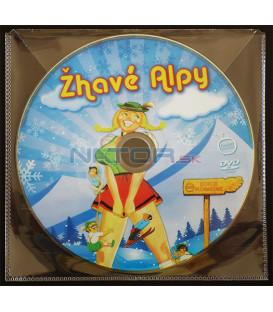 Žhavé Alpy (Alpenglühn im Dirndlrock) DVD (BALENIE V OBÁLKE Z FOLIE PRIEHĽADNÁ)