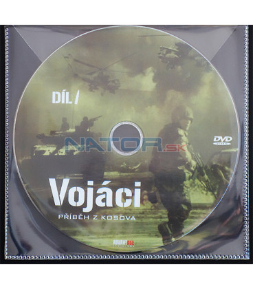 Vojáci: Příběh z Kosova - 1. díl (Soldati di pace / The Soldiers: The Kosovo Story) DVD (BALENIE V OBÁLKE Z FOLIE PRIEHĽADNÁ)