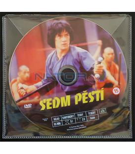 Sedm pěstí (Quan jing) DVD (BALENIE V PLASTOVEJ OBÁLKE)
