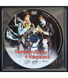 Tajemství hradu v Karpatech DVD (BALENIE V PLASTOVEJ OBÁLKE)