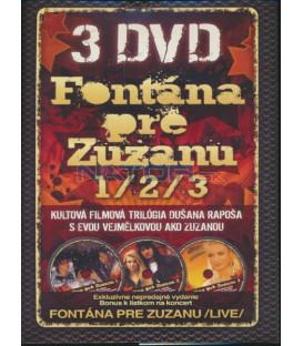 DVD Kolekcia Fontána pre Zuzanu 1/2/3 3xDVD